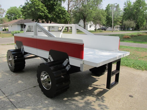 Chevy Pick up Truck twin bed