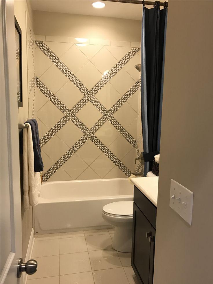 Stunning tile work - David Weekly  Homes, Charlotte NC