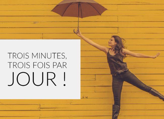 Une pratique régulière pour cheminer vers une communication non violente : Trois minutes, Trois fois par jour !
