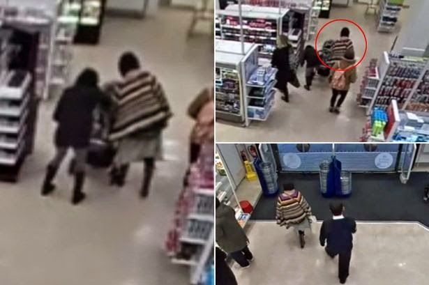 Omg The Real thing: Video:CCTV footage shows woman reaching into pram ...