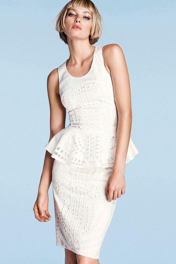 :: H & M ::: White Peplum, Peplum Tops, White Fashion, Jessicahart, Rehear Dinners Dresses, Cute Summer Outfits, Jessica Hart, Style Clothing, Peplum Dresses