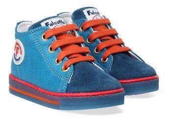 Blauwe Naturino kinderschoenen Falcotto Magic boots