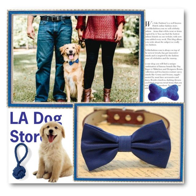 """""""LA Dog Store"""" by ladogstores ❤ liked on Polyvore featuring Haffke and Lands' End"""