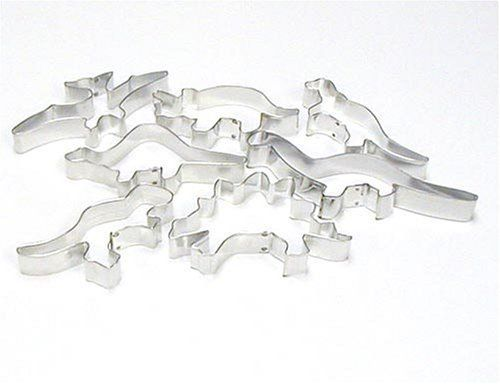 Dinosaur Cookie Cutters  Set of 7 * You can get more details by clicking on the image.