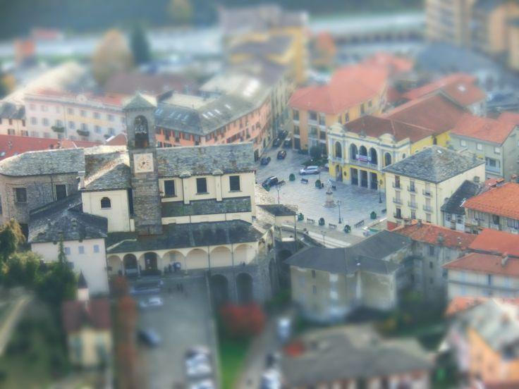 Collegiata di Varallo San Gaudenzio dal Sacro Monte di Varallo #sacrimontisocial UNESCO
