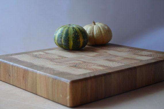 Endgrain Cutting Board  Handmade chopping board  by KubuHandmade