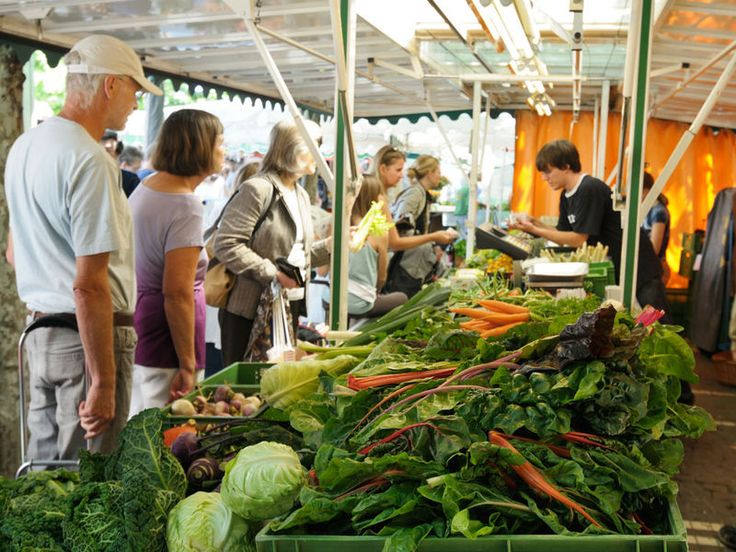 Frankfurt Zeil Weekly Farmer Market Konstablerwache Sat 8-5