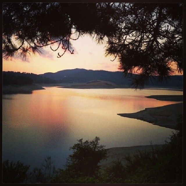 Nothing is like your home. E.M. #lake #nature #sunset