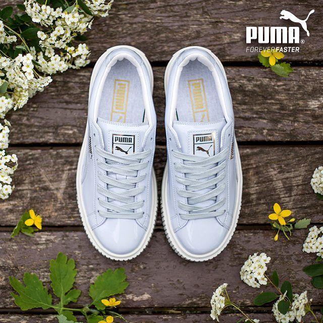 Just landed #puma #basket #platform #patent #sneaker for #trend #setters #DenimLounge where #Urban #Slackers meet #streetwear #shoes and #jeans #wear in #Ioannina #Greece