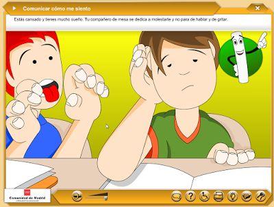 Escuela infantil castillo de Blanca: COMUNICAR CÓMO ME SIENTO