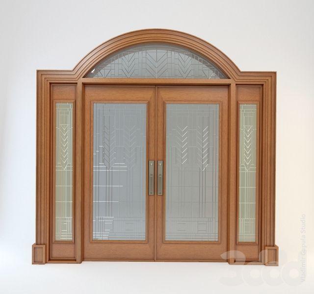 """Внутренняя дверь в стиле """"Школа прерий"""""""