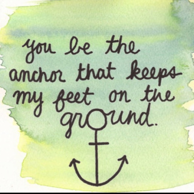 Want the anchor as a tattoo with my kids' names making the bottom of the anchor
