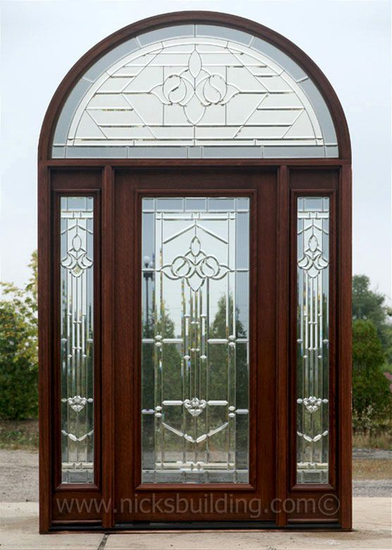 17 best images about mahogany doors on pinterest shaker for Half glass exterior door