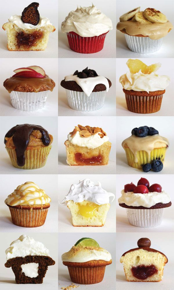 33 amazing cupcake recipes.