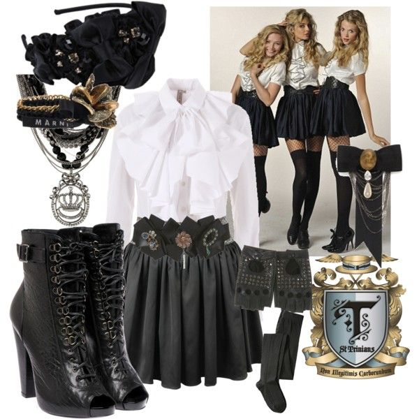 love st trinians and love this outfit