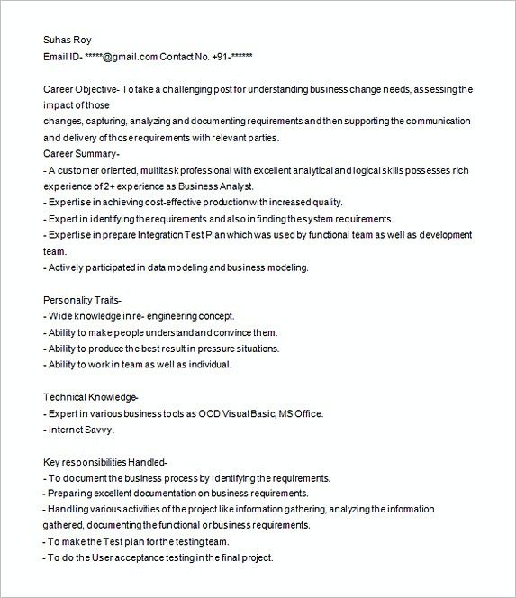 Business Analyst Resume Sample Analyst Resume Examples In Searching For Analyst Resume Examples To Business Analyst Resume Business Analyst Resume Examples