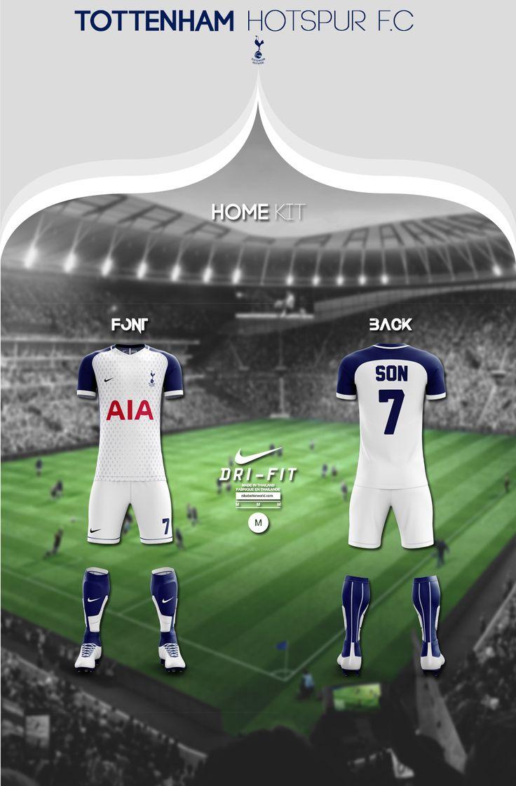 "Check out my @Behance project: ""Tottenham Hotspur F.C Soccer Kit 2017/18 | Nike"" https://www.behance.net/gallery/56489777/Tottenham-Hotspur-FC-Soccer-Kit-201718-Nike"