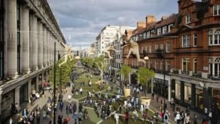 Five ways to fix our ailing High Streets - BBC News