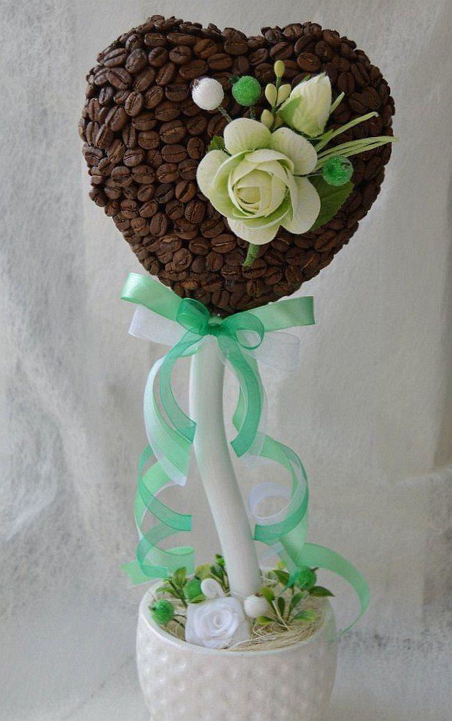 HappyModern.RU | Кофейные деревья (40 фото): как создать топиарий своими руками | http://happymodern.ru