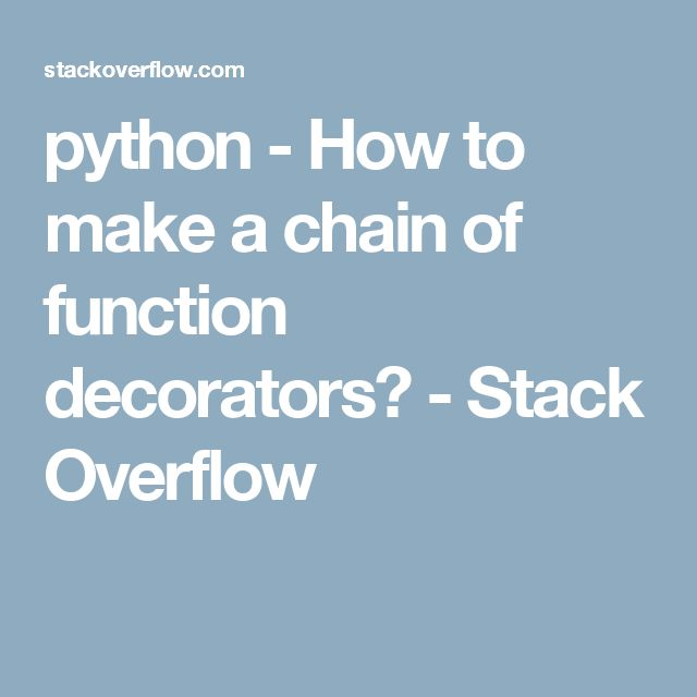 198 best images about python learning on pinterest re for Decorator python