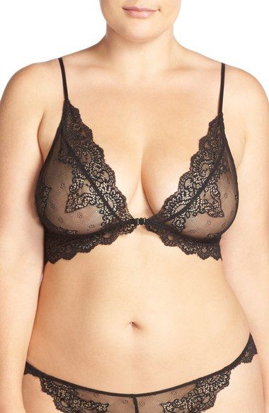 Only Hearts 'So Fine' Lace Bralette (Plus Size) available at ...