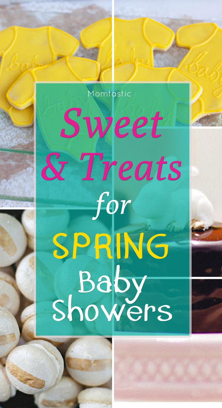 Inspiration For Sweets And Treats For Spring Baby Showers