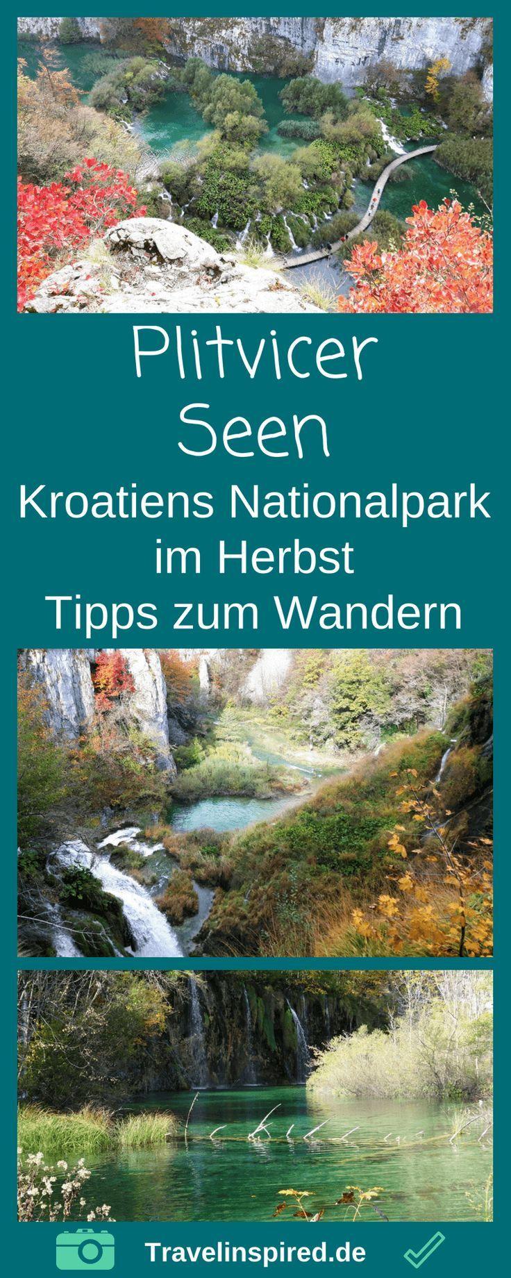 Wandern Im Plitvicer Und Krka Nationalpark In Kroatien