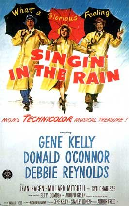 Singin' in the Rain (1952) is one of the most-loved and celebrated film musicals of all time from MGM, before a mass exodus to filmed adaptations of Broadway plays emerged as a standard pattern. It was made directly for film, and was not a Broadway adaptation.