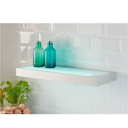 Fluorescent Illuminated Box Shelf Light Led Shelf