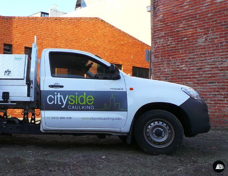 Toyota Hilux, Cityside Caulking, Vehicle Decals, Tradie