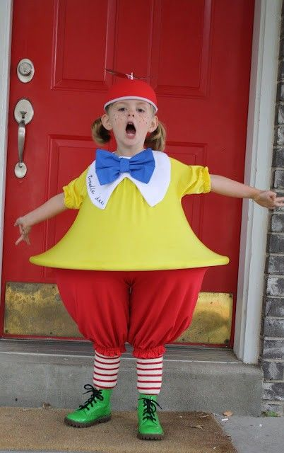 Tweedle Dee Costume...or  Tweedledum.