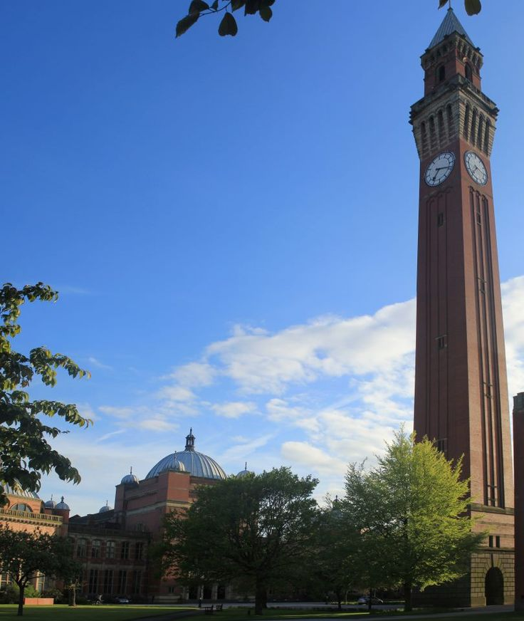 University of Birmingham's clock tower is one of the highlights of our 'Beyond Brummagem' journey. www.bradtguides.com