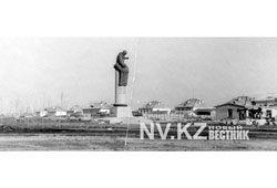 Караганда. Памятник Нуркену Абдирову