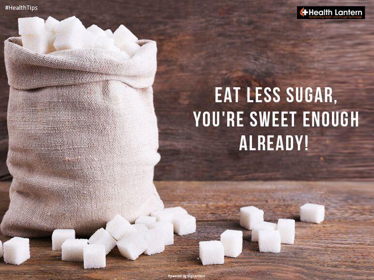 Avoid Sugar!  #avoidsugar #stayfit #stayhealthy