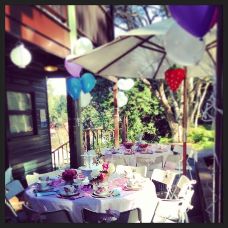 High tea party for little girls