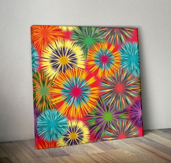 Las 25 mejores ideas sobre flores abstractas en pinterest - Ver colores de pintura ...