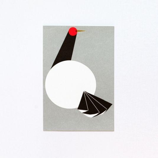 岩永和也デザイン 年賀状【ツル】NYC-G1