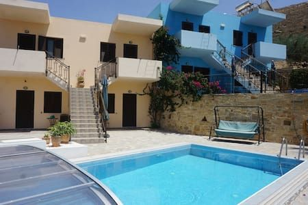 """Check out this awesome listing on Airbnb: """"Studios Psiloritis"""" - Townhouses for Rent in Listaros"""