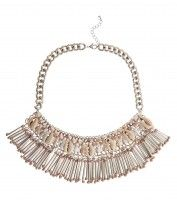 New look Gold Chain Shell Necklace £19.99 €24.99