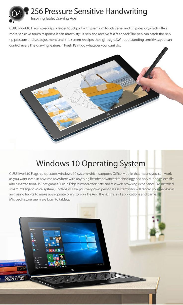 """CUBE iwork10 10.1"""" Quad-Core Dual-OS Ultimate Tablet PC w/ Keyboard - Free Shipping - DealExtreme"""