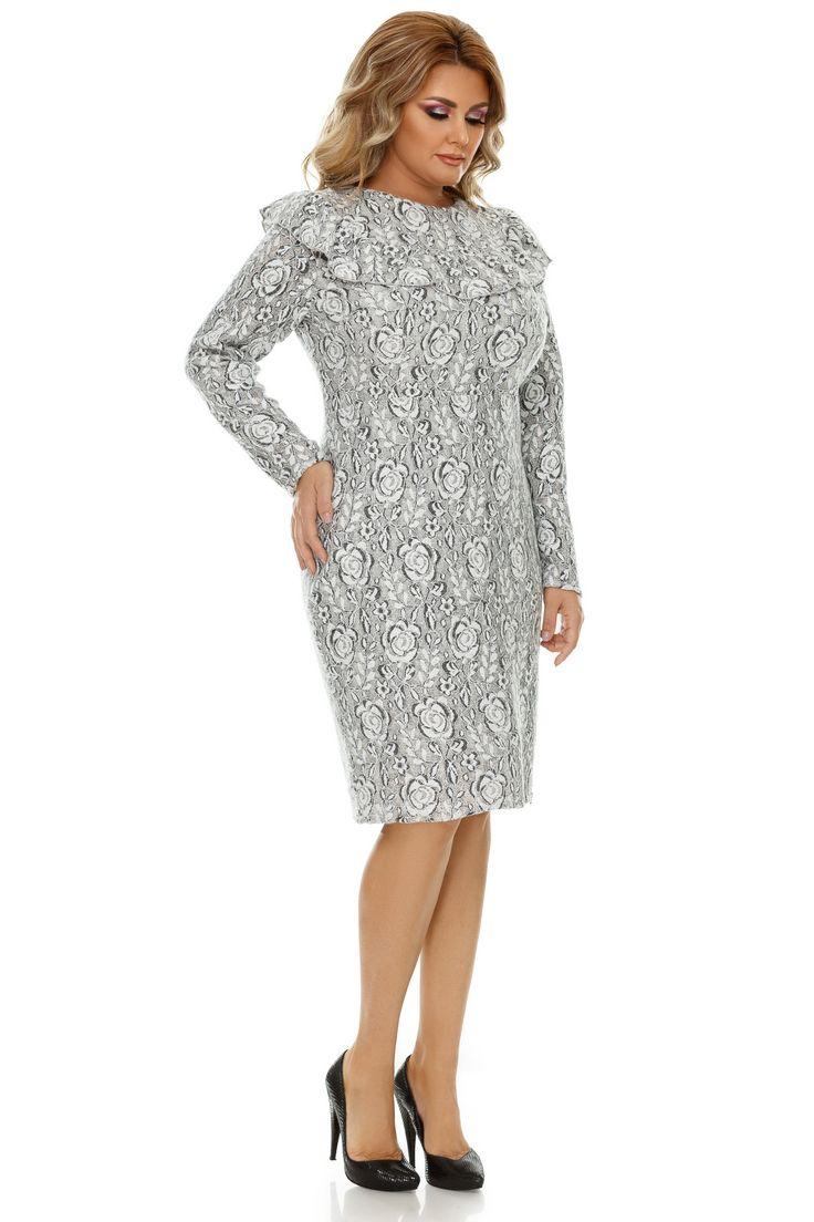 Rochie Plus Size Vera Gri - Menirea unei rochii elegante plus size este să-ți contureze o siluetă armonioasă și să-ți evidențieze farmecul natural, adică exact ceea face cu succes rochia midi Vera în nuanțe delicate de gri. Cu o croială conică și linii clasice, această piesă vestimentară surprinde plăcut dato