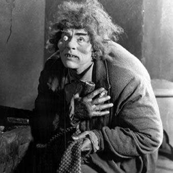 Lon Chaney-As Hunchback of Notre Dame!  http://www.natemaas.com/2012/02/lon-chaney.html