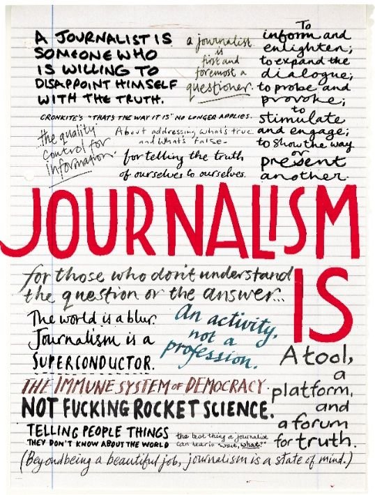 """#article """"In his 1999 book, What Are Journalists For?, which told the story of the civic-journalism movement, Jay Rosen suggested that the question in the title is one our society must ask itself periodically, as times change and the demands on and of journalism change with them. Now is one of those moments.""""  (by The Editors @ Columbia Journalism Review)"""