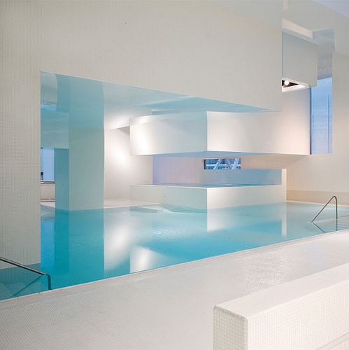 Les Bains des Docks in Le Havre by French architect Jean Nouvel