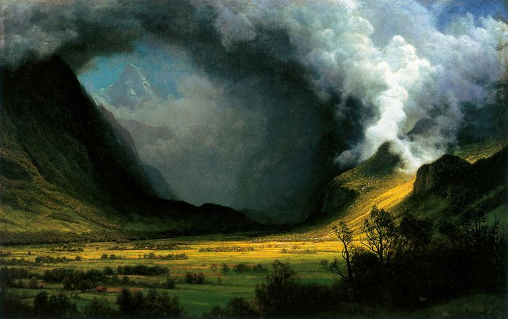Google Image Result for http://upload.wikimedia.org/wikipedia/commons/6/6a/HRSOA_AlbertBierstadt-Storm_in_the_Mountains.jpg