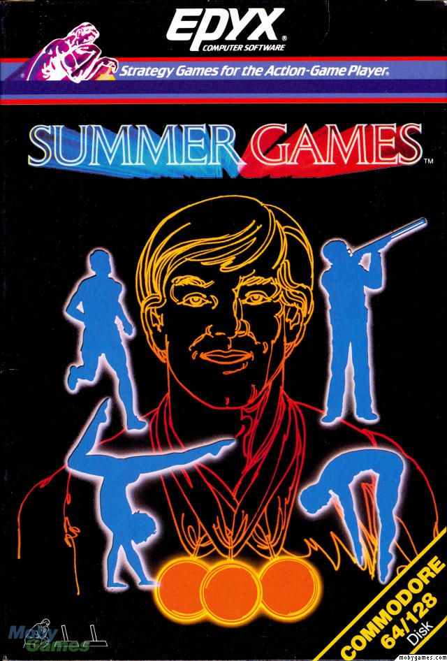 Summer Games - Commodore C64, helårs-underholdning og joystick dræberen!