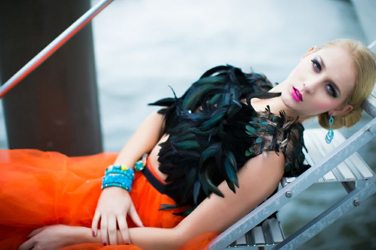 location - Pier 35 model - Courtney Gledhill photographer - Jonathan Ho Make Up - Maren Holm