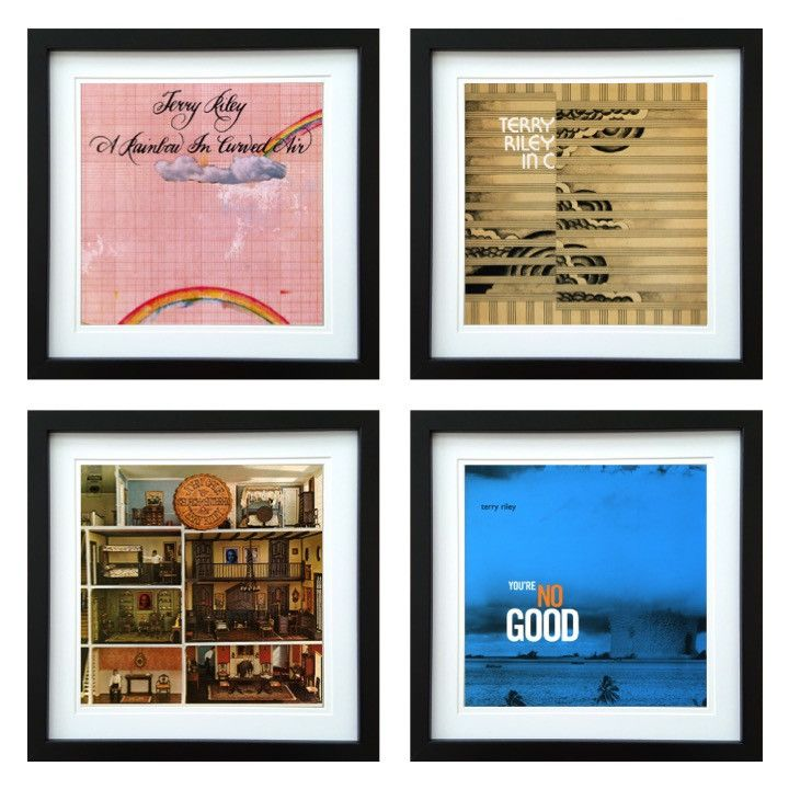 Terry Riley | Framed Album Art Set of 4 Images | ArtRockStore