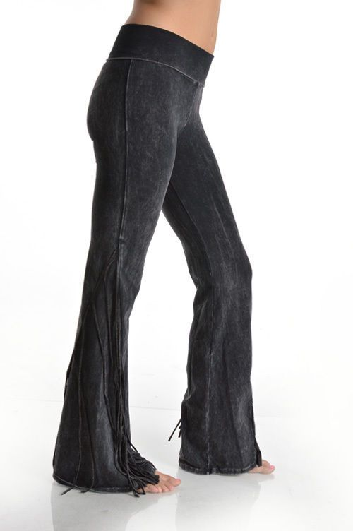 ed3341fbf3 New T-PARTY HIGH QUALITY COTTON SIDE FRINGE YOGA PANTS S M L #fashion  #clothing #shoes #accessories #womensclothing #pants (ebay link)