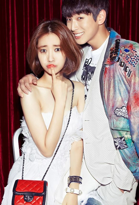 Jin Woon ♡ #2AM and Go Joon Hee - Marie Claire Magazine ...